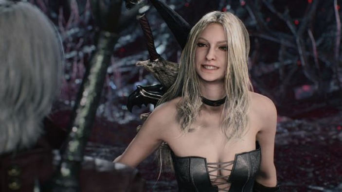 Devil May Cry 5, la nuova patch rimuove la censura su Trish