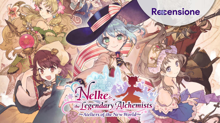 <strong>Nelke & the Legendary Alchemists: Ateliers of the New World</strong> - Recensione