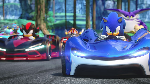 Team Sonic Racing si presenta con il nuovo trailer Team Up