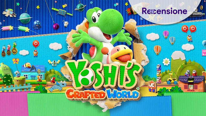 <strong>Yoshi's Crafted World</strong> - Recensione