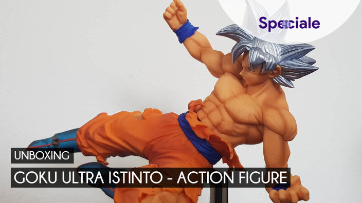 Video Unboxing: Goku Ultra Istinto action figure