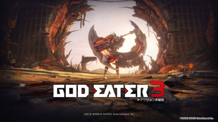 God Eater 3 sbarca su Nintendo Switch