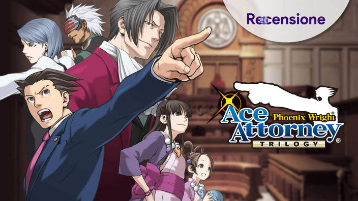 <strong>Ace Attorney: Phoenix Wright Trilogy</strong> - Recensione