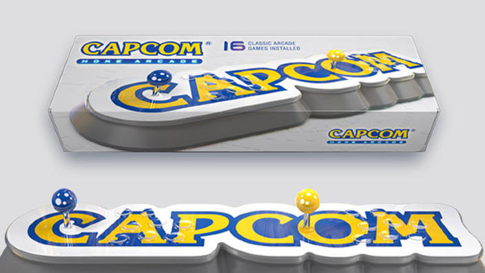 Annunciato Capcom Home Arcade, l'arcade stick plug and play