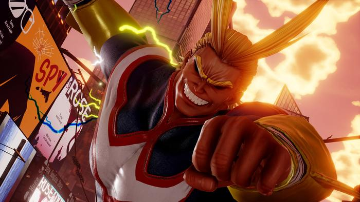 All Might si mostra nel suo primo trailer su Jump Force