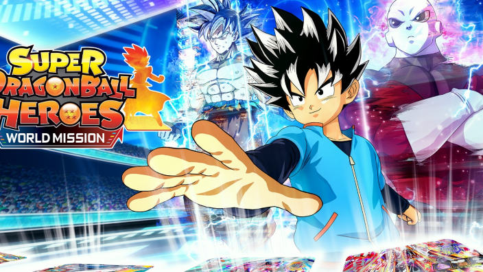 Demo e update gratuiti per Super Dragon Ball Heroes: World Mission