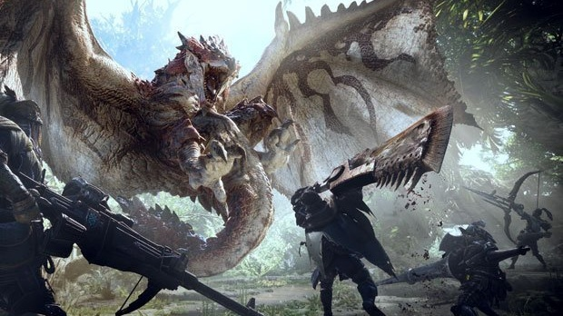 Monster Hunter World - via all'evento in collaborazione con The Witcher 3 su PC