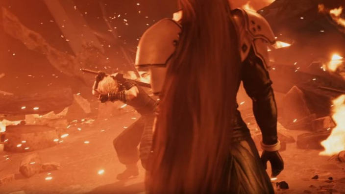 Final Fantasy VII Remake, trailer a confronto