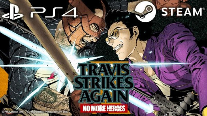 Travis Strikes Again: No More Heroes arriva su PS4 e PC