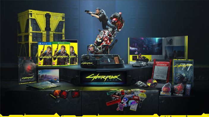 Cyberpunk 2077 avrà una splendida collector's edition