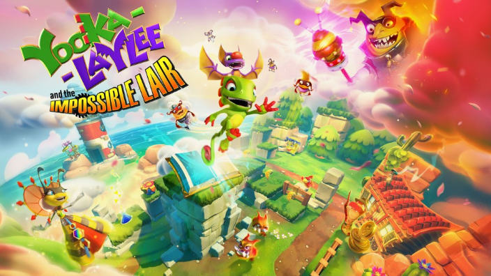 Team 17 presenta Yooka-Laylee and the Impossible Lair