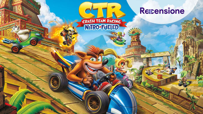 <strong>Crash Team Racing Nitro-Fueled</strong> - Recensione