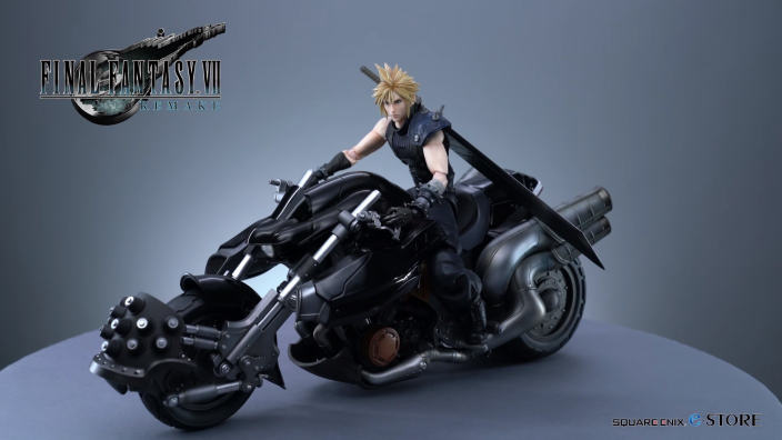Final Fantasy VII Remake - Le figure della Limited Edition in un video