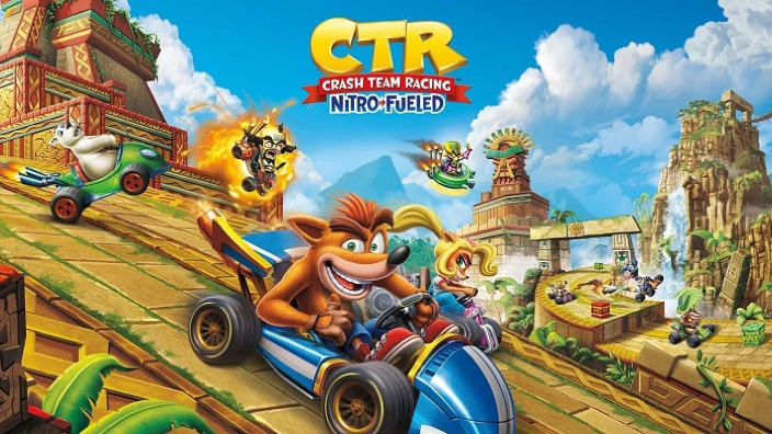 "Crash Team Racing Nitro Fueled - Dettagli per il nuovo Grand Prix ""Back N. Time"""