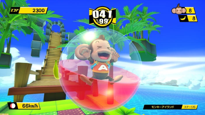 Super Monkey Ball Banana Blitz HD si mostra nel primo gameplay video