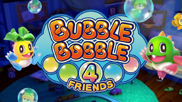 Bubble Bobble 4 Friends annunciato per Nintendo Switch