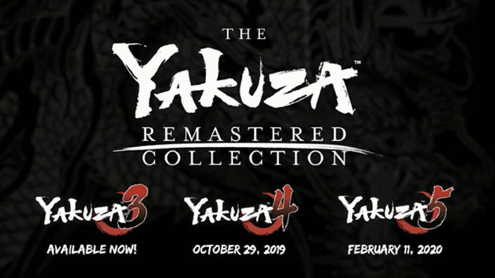 Sega annuncia la Yakuza Remastered Collection, il 3 è già disponibile