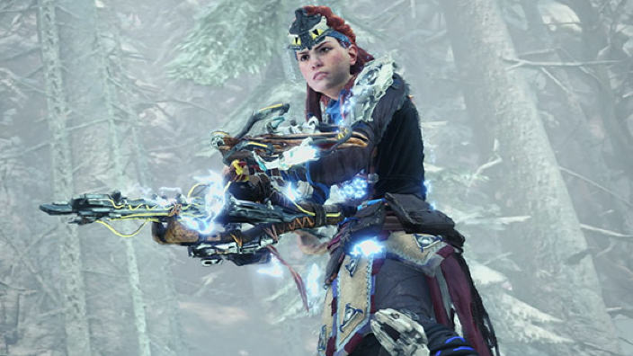 Monster Hunter World Iceborn presenta la collaborazione con Horizon Zero Dawn