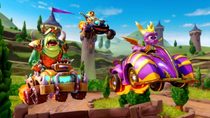 Crash Team Racing: Nitro-Fueled, al via il Gran Prix di Spyro
