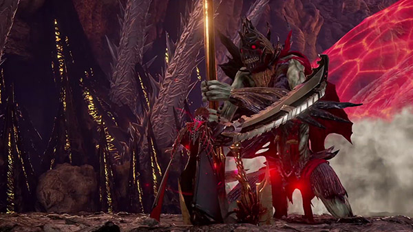 Code Vein presenta il boss Despota Insaziabile