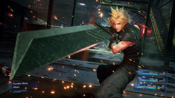 Final Fantasy VII Remake presenta la Classic Mode