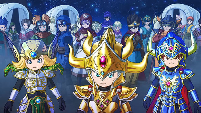 Annunciato Dragon Quest of the Stars per l'Occidente