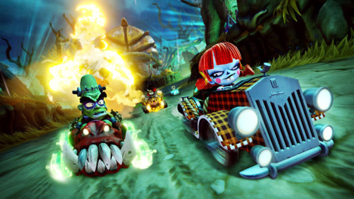 Crash Team Racing: Nitro-Fueled, le novità dello Spooky Gran Prix