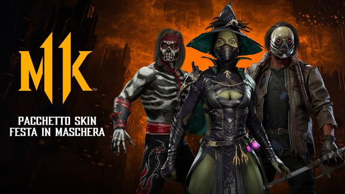 Mortal Kombat 11 si prepara all'evento di Halloween