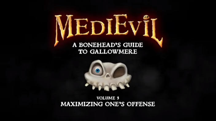 MediEvil, presentato il trailer Maximizing One's Offense