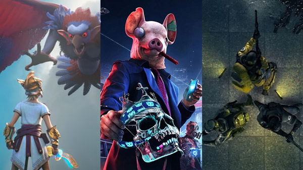 Gods & Monsters Watch Dogs Legions e Rainbow Six Quarantine rinviati