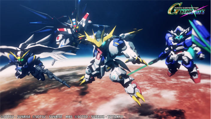 SD Gundam G Generation Cross Rays in arrivo in occidente