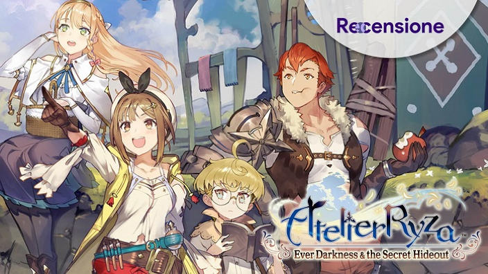 <strong>Atelier Ryza - Ever Darkness and The Secret Hideout</strong> - Recensione