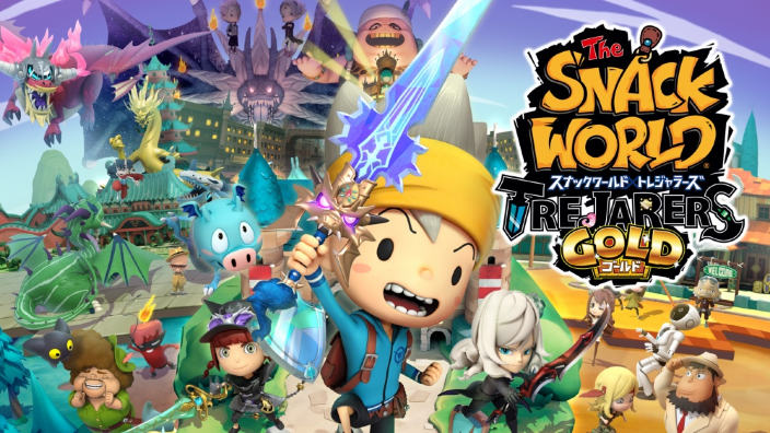 SNACK WORLD: Esploratori di dungeon - Gold ha una data europea
