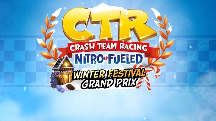 Crash Team Racing: Nitro-Fueled, al via il Winter Festival GP