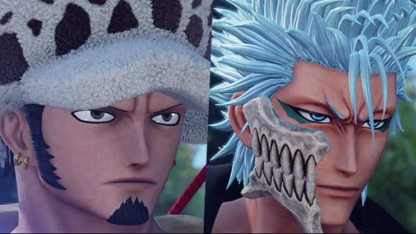 Data e trailer per Grimmjow Jaegerjaquez e Trafalgar Law su Jump Force