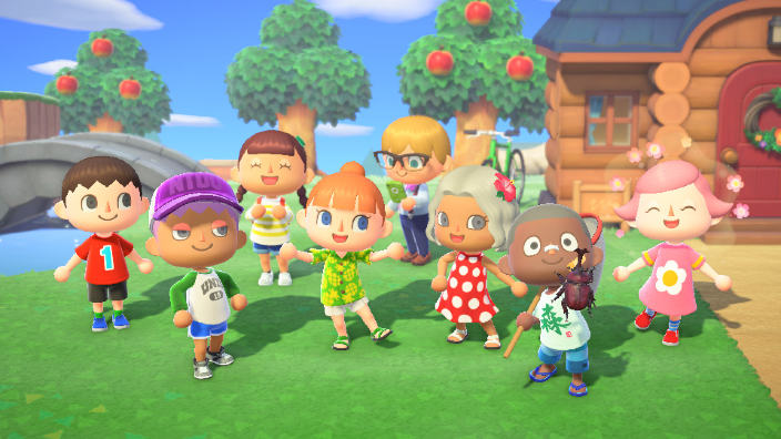 Animal Crossing: New Horizons presenta le quattro stagioni