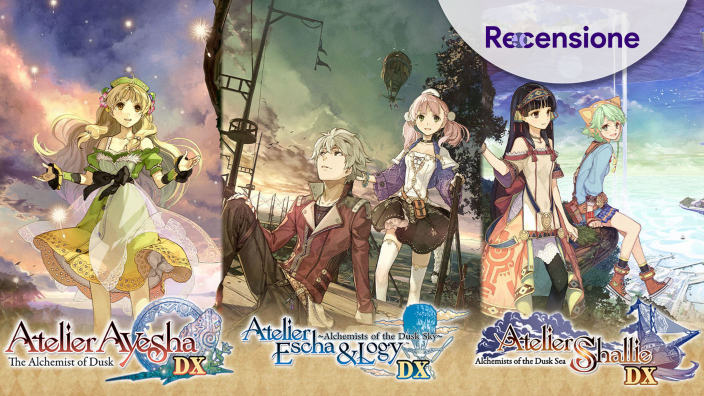 <strong>Atelier Dusk Trilogy Deluxe Pack</strong> - Recensione X3