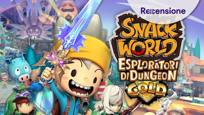 <strong>Snack World Esploratori di Dungeon Gold</strong> - Recensione