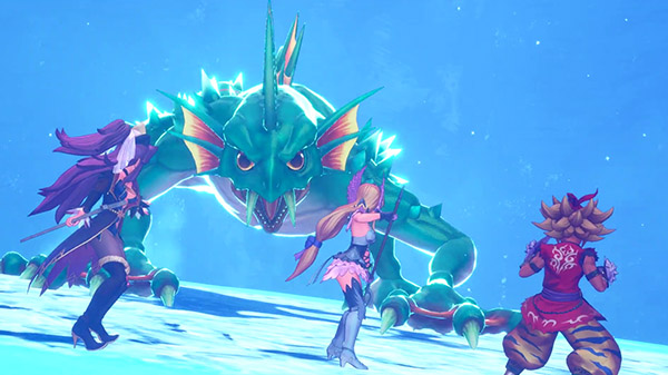 Trials of Mana mostra il gameplay del Labirinto di Ghiaccio