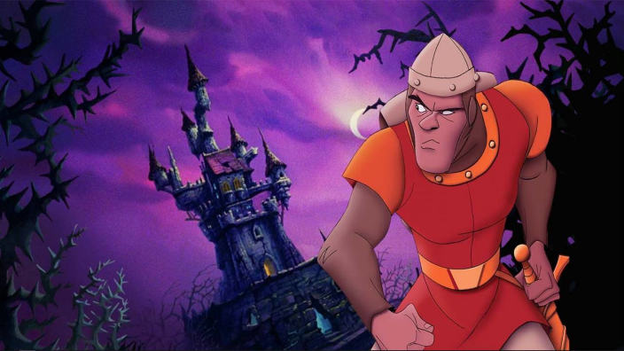 Ryan Reynolds nel film di Dragon's Lair?
