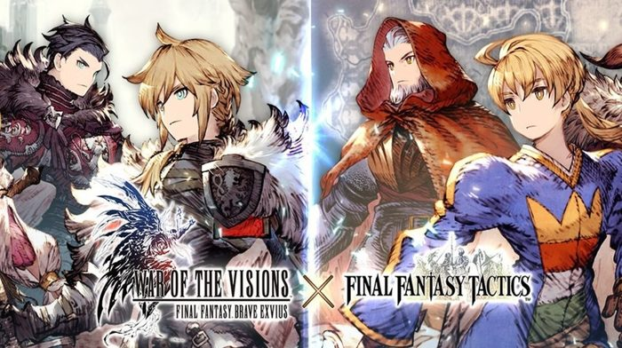 War of the Visions Final Fantasy Brave Exvius inizia l'evento di Final Fantasy Tactics
