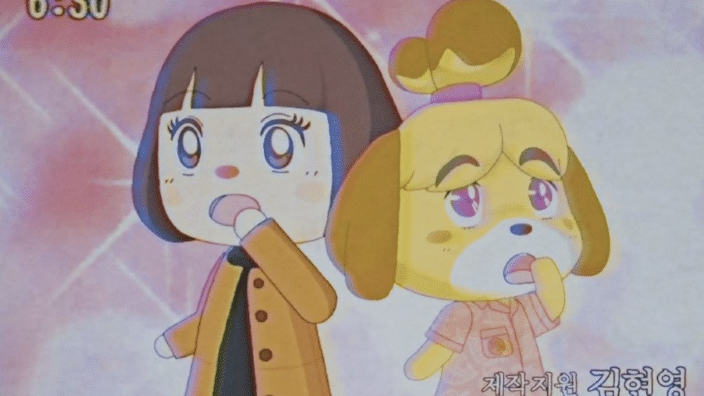 E se Animal Crossing fosse un anime anni '80?