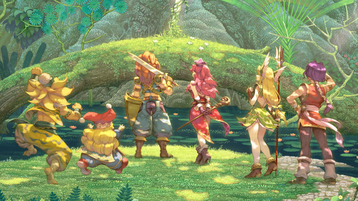 Trials of Mana è disponibile
