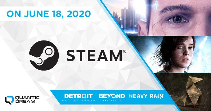 Beyond: Two Souls, Detroit: Become Human e Heavy Rain pronti ad arrivare su Steam