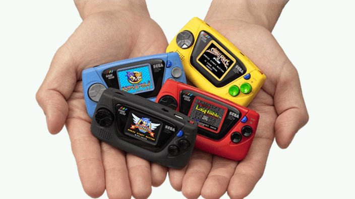 Sega annuncia Game Gear Micro