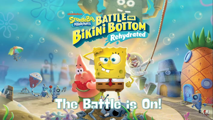 SpongeBob Squarepants Battle for Bikini Bottom - Rehydrated - mostrata la modalità multiplayer