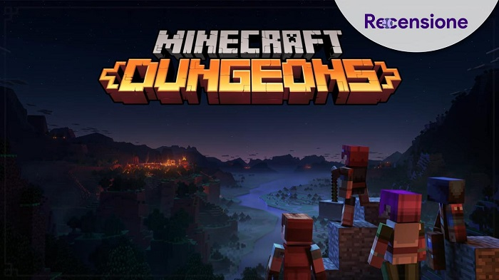 <strong>Minecraft Dungeons</strong> - Recensione