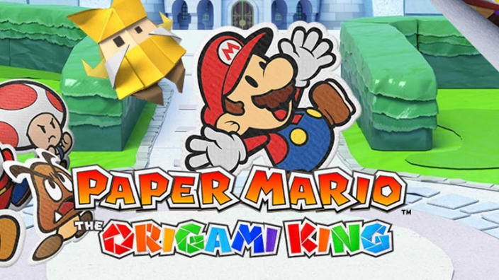 Paper Mario The Origami King vanterà un Open World