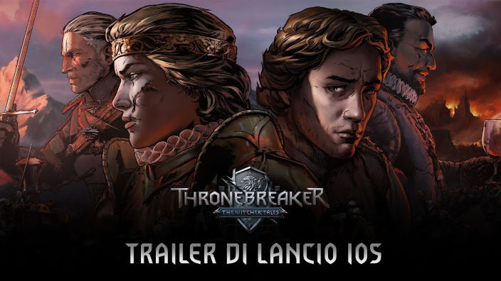Thronebreaker The Witcher Tales è arrivato anche su IOS