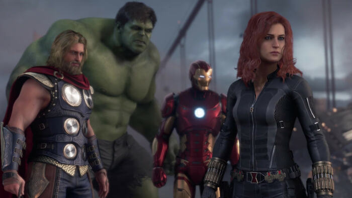 Secondo War Table per Marvel's Avengers